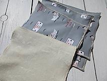 Textil - Detské bezodpadové obrúsky - 10620078_