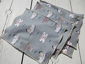 Textil - Detské bezodpadové obrúsky - 10620080_
