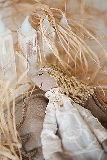 Bábiky - Vintažný anjelik - 10620521_