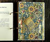 Papiernictvo - Poľovnícky Receptár/Receptár pre poľovníka/Country receptár s receptami z diviny - 10619929_