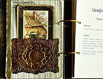 Papiernictvo - Poľovnícky Receptár/Receptár pre poľovníka/Country receptár s receptami z diviny - 10619931_