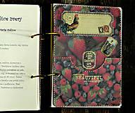 Papiernictvo - Poľovnícky Receptár/Receptár pre poľovníka/Country receptár s receptami z diviny - 10619933_