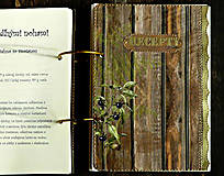 Papiernictvo - Poľovnícky Receptár/Receptár pre poľovníka/Country receptár s receptami z diviny - 10619934_