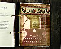 Papiernictvo - Poľovnícky Receptár/Receptár pre poľovníka/Country receptár s receptami z diviny - 10619936_