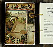 Papiernictvo - Poľovnícky Receptár/Receptár pre poľovníka/Country receptár s receptami z diviny - 10619937_