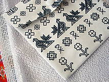 Úžitkový textil - eko vrecka na nákup potravín - 10621144_