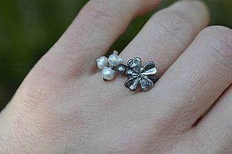 Prstene - čtyřlístkový - 10620378_