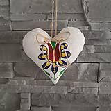 Dekorácie - Srdce - Lásky kvet - 10622122_