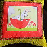 Úžitkový textil - Veľkonočnà obliečka - 10619416_