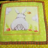 Úžitkový textil - Veľkonočnà obliečka - 10619605_