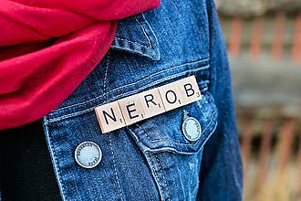 Odznaky/Brošne - Povedz to brošňou - Nerob - 10619465_