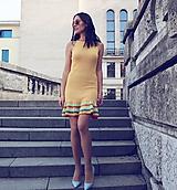Šaty - Úpletové šaty Ariana - veselé - 10621112_