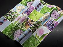 Úžitkový textil - Jarný set  (Prestieranie kvetinové 50×50 cm) - 10624631_