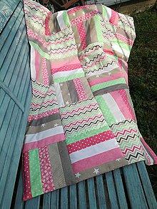 Úžitkový textil - Deka jarná - 10622712_