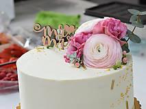 Zápich na tortu Mr♥Mrs