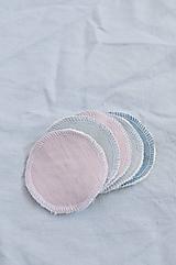 Úžitkový textil - Odličovacie tampóny zero-waste - 10625444_