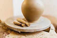 Nádoby - Farebný džbán na víno s hroznom - 10623046_