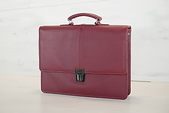 Veľké tašky - Pánska aktovka - Mikelo No.2 + peňaženka zadarmo - 10625698_
