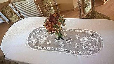 Úžitkový textil - Nádherný sviatočný obrus XXL - 10622873_