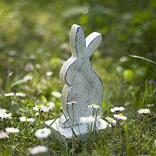 Dekorácie - Veľkonočný zajko - 10625236_