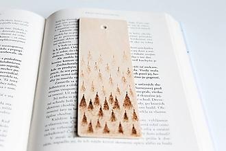 """Papiernictvo - Drevená záložka do knihy """"Stromy"""" - 10624972_"""