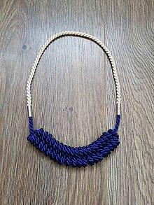 Náhrdelníky - Viazaný náhrdelník - V. - 10623723_