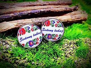 Šperky - Manžetové gombíky Július - 10624102_