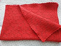 Textil - Srdiečková deka - 10623803_