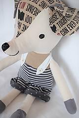 Hračky - Myšiak Bruno ( veľkosť XL ) - 10623909_
