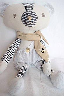 Hračky - Medveď Samo - 10623929_
