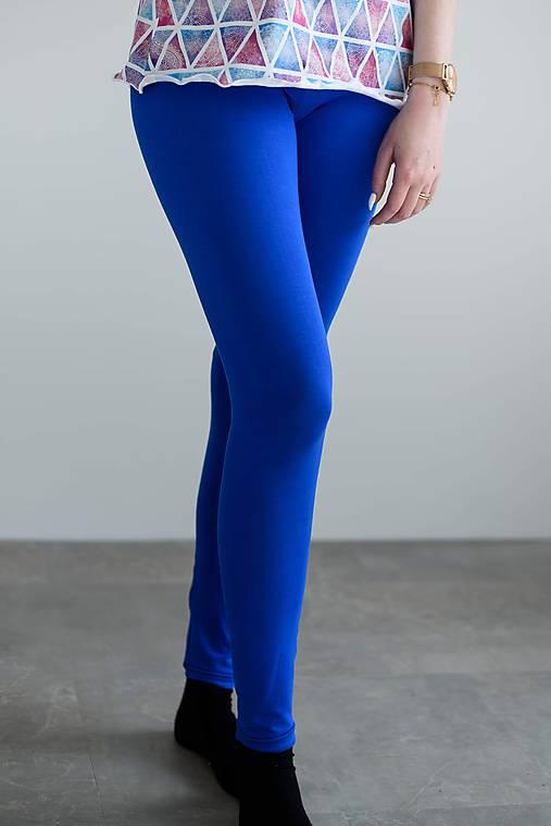 Nohavice - Bambusové legíny s vysokým pásom  - 10625486_