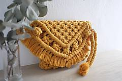 Kabelky - macramé clutch kabelka - 10622669_
