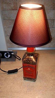Svietidlá a sviečky - Jack Daniels Fire lampa - 10625325_