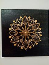 Obrazy - Mandala - Ženské tvorenie - 10625303_