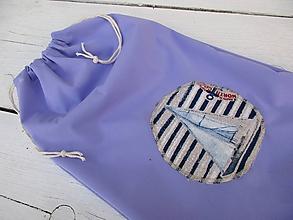 Textil - PULvrecko-fialové - 10622327_