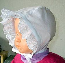 Detské čiapky - čepček s madeirou - 10623957_