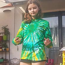 Tričká - Zelená špirála - 10625429_