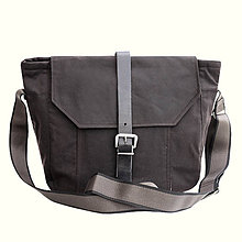 Veľké tašky - Unisex taška BASIC BROWN - 10623078_