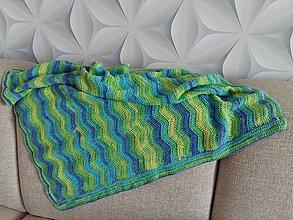 Úžitkový textil - Deka do kočíka - 10625360_
