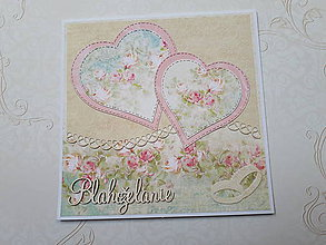 Papiernictvo - Svadobná pohľadnica - 10625367_