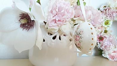 Dekorácie - Romantická kraslica - 10625269_