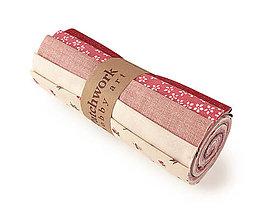 Textil - Bavlnené látky - rolka Roses - 10623020_