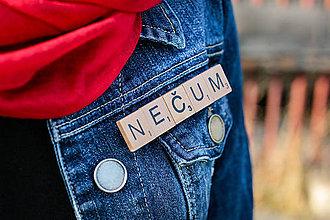 Odznaky/Brošne - Povedz to brošňou - Nečum - 10623251_