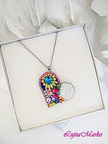 Náhrdelníky - Letná láska ... náhrdelník - 10624504_