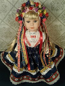 Ozdoby do vlasov - Parta pre bábiku - 10627376_