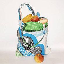 Nákupné tašky - Veľká, pevná nákupná taška - Pod modrou oblohou - 10628200_