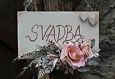 Tabuľky - Svadobná tabuľka - 10626486_