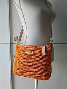 Kabelky - Crazy orange Stella - 10626755_