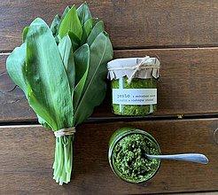 Potraviny - Pesto z medvedieho cesnaku  - 10627918_
