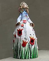 """Socha - """"Tulipánka """" - maľovaný zvonec - 10626402_"""